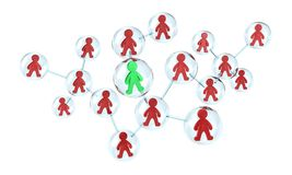 The Teamwork Stock Image
