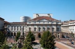 The Teatro Alla Scala In Milan, Italy Stock Photo