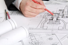 The Technical Drawing Stock Photography