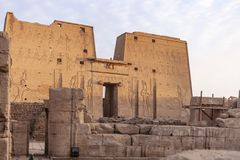 Free The Temple Of Edfu Stock Image - 140292191