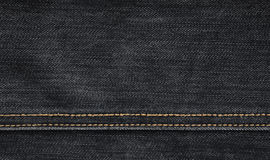 Free The Texture Of Black Denim Cloth Stock Photography - 87758092