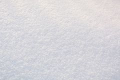 The Texture Of The Snow. Background Snow. White Pure Stock Images