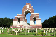 Free The Thiepval Memorial To The Missing Of The Somme. Stock Photography - 89508112