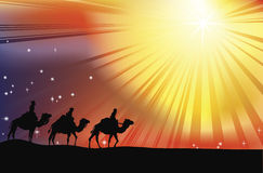 The Three Wise Men Stock Image