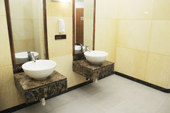 The Toilet Washing Basins Stock Image