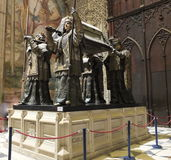 The Tomb Of Christopher Columbus Side View Stock Images