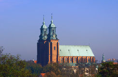 The Towers Of The Basilica Archdiocese Stock Image