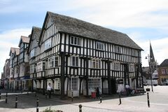 Free The Town Centre In Evesham, Worcestershire, UK Royalty Free Stock Photos - 180911408