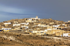 The Town Matmata In Tunisia Stock Photos