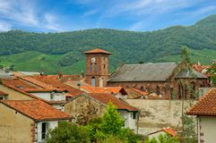 Free The Town Of Saint Jean Pied De Port By The Way Of Santiago Royalty Free Stock Photos - 109940598