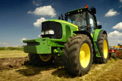 The Tractor Royalty Free Stock Photos