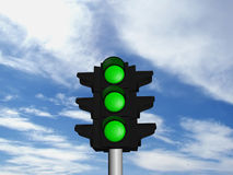 Free The Traffic Light Stock Photo - 3561710