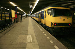 The Train Station. Netherlands. Royalty Free Stock Image