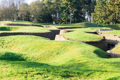 Free The Trenches And Craters On Battlefield Of Vimy Ridge. Stock Photo - 48520070