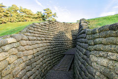 Free The Trenches On Battlefield Of Vimy Ridge France. Stock Photography - 49183182