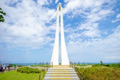 Free The Tropic Of Cancer Marker At Hualien, Taiwan Stock Images - 116094404