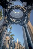 The U.S. National World War II Memorial In Washington DC, USA. I Royalty Free Stock Photography