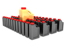 The Unique Gold Canister Stock Images