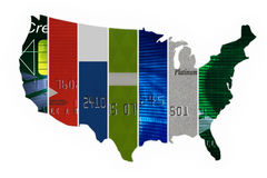 The United States Of Credit Stock Image