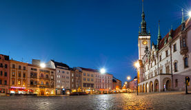 The Upper Square In Olomouc Royalty Free Stock Photo