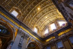 Free The Vatican Inside Royalty Free Stock Photo - 113066935