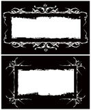 The Vector Gothic Frames Image Royalty Free Stock Image