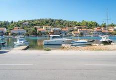 Free The Vela Luka Village On Korcula Island, Croatia Stock Photography - 133372182