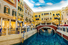 The Venetian Casino Hotel Macao Stock Photo