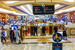 The Venetian Casino Hotel Macao Stock Photos