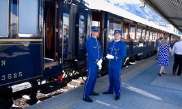 Free The Venice Simplon-Orient-Express - Conductors Royalty Free Stock Images - 54730789