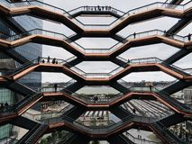 Free The Vessel At Hudson Yards Stock Image - 161368861