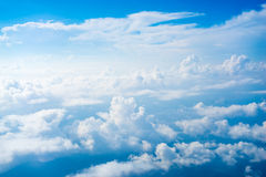 Free The View From The Plane Above The Cloud And Sky Stock Photos - 46709873