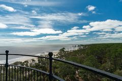 Free The View From The Top Of Hunting Island Lighthouse Stock Photo - 146041480