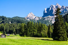 Free The View Of Dolomiti Mountain Royalty Free Stock Images - 33511849