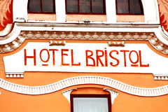 Free The View Of Part Of The Former Hotel Bristol, Chernivtsi, Ukraine Stock Image - 93696671