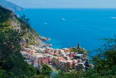 Free The Village Of Vernazza - A Part Of Cinque Terre In Italy. Royalty Free Stock Images - 206194399
