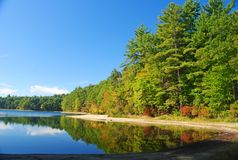 Free The Walden Pond Near Concord, MA Royalty Free Stock Photos - 78413148