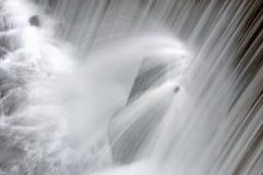 The Waterfall Splash Close-up Stock Image