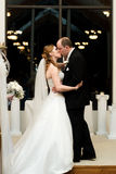 The Wedding Kiss Royalty Free Stock Photography