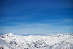 The Winter Landscape Royalty Free Stock Images
