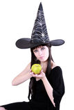 The Woman In Carnival Disguise Royalty Free Stock Photo