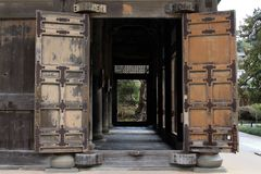 Free The Wooden Structure Around Kenchoji Zen Temple Complex Stock Image - 118676341