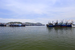 The Wuyu Island Fishing Pier Stock Photos