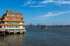 Free The Yalu River -- China DPRK Border Royalty Free Stock Images - 92434389