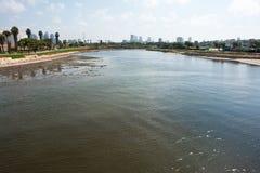 The Yarkon River Tel-Aviv Israel Royalty Free Stock Image