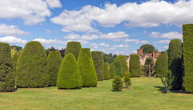 Free The Yew Garden, Packwood House, Warwickshire, England. Stock Photos - 97236443