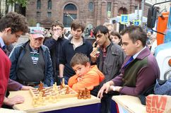 Free The Young Chess Player. Royalty Free Stock Images - 109879879