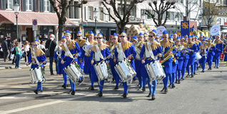 The Zurich Spring Holiday Parade Royalty Free Stock Image