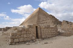 Thea Great Pyramid van Giza Stock Afbeelding