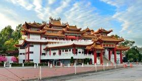 Thean后屿寺庙吉隆坡 图库摄影